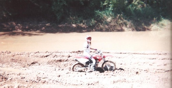 Kelley Rode Into Quicksand at The Red River Oct. 2008