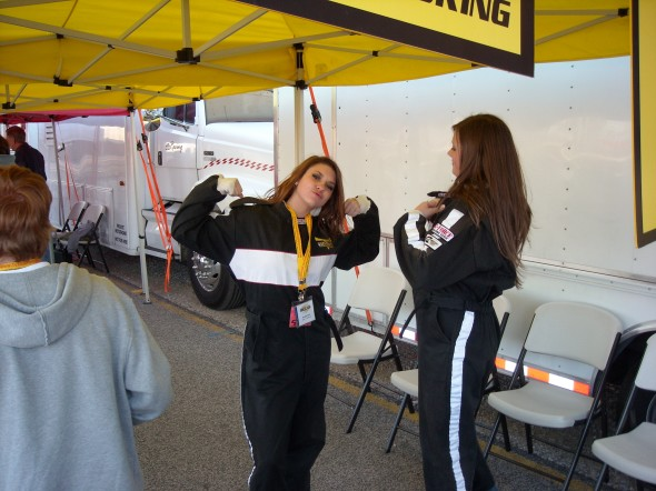 Gearing Up for The Vettes at TMS Jan 2008